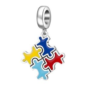 925 Sterling Silver Autism Awareness Charm